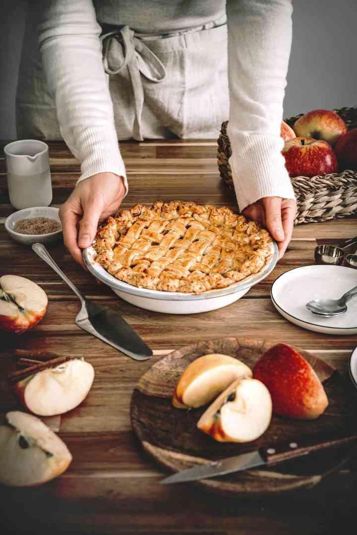 Tourte aux pommes apple pie