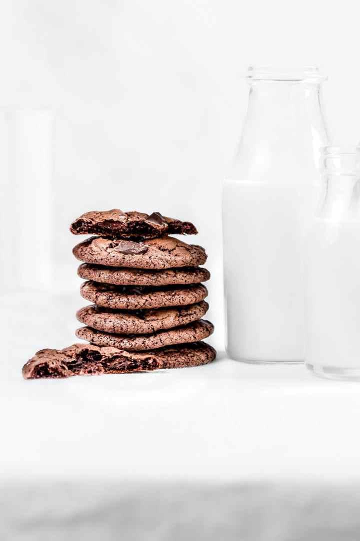 Les cookies aux brownies