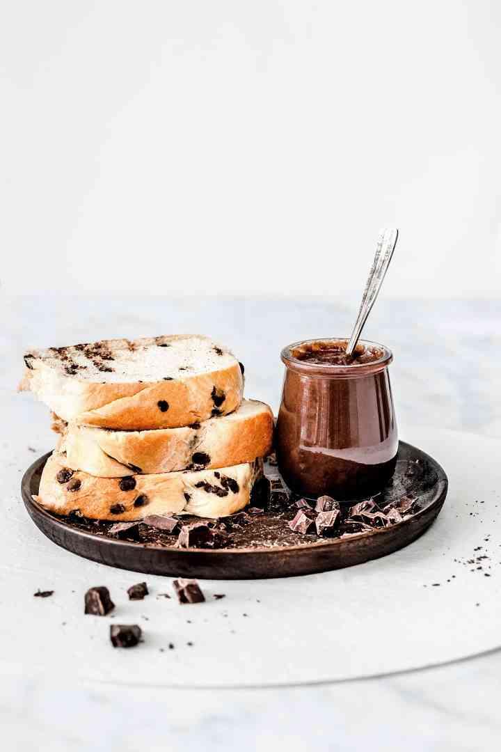 Healthy chocolat hazenut spred