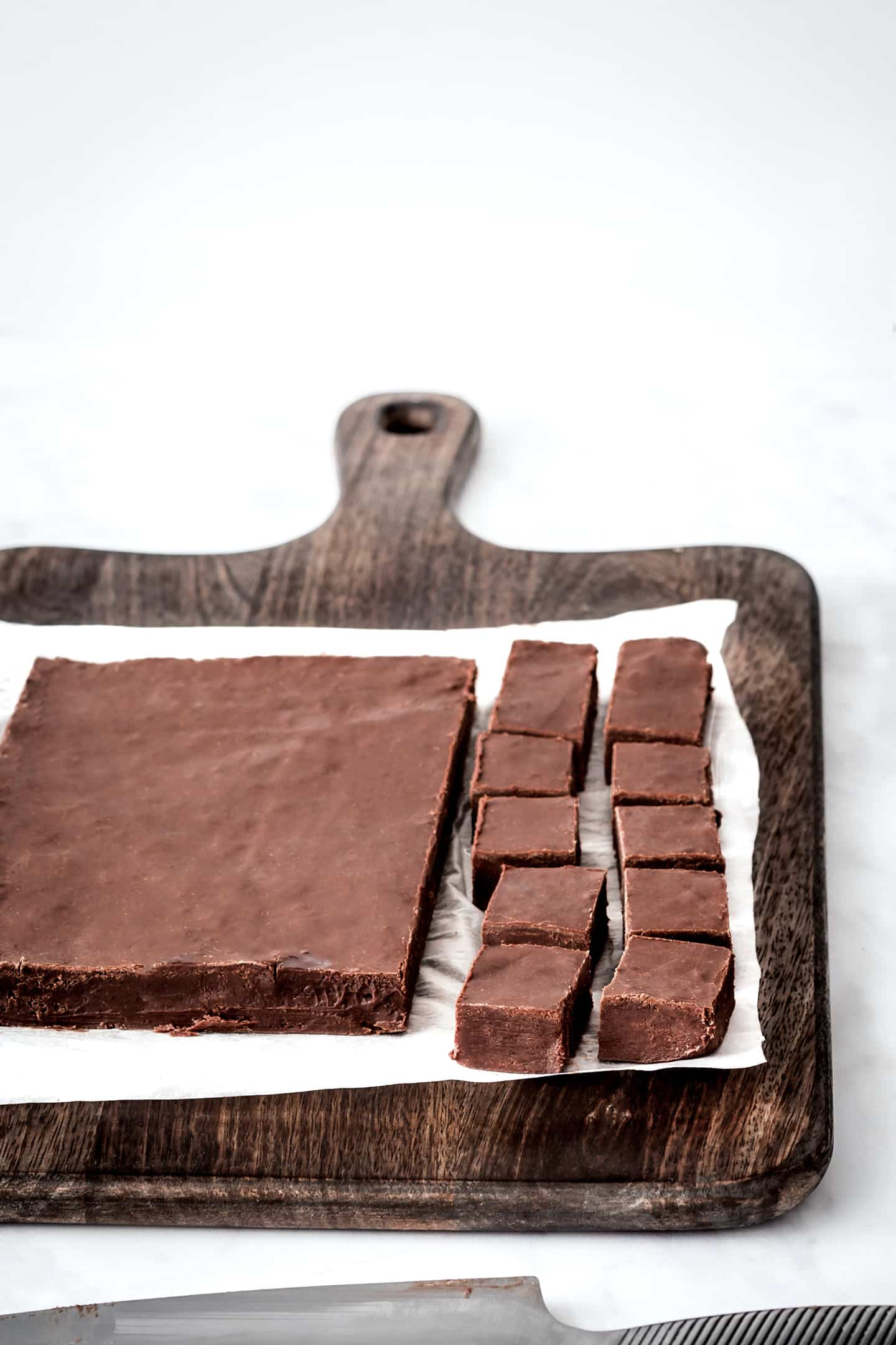 Dark chocolate fudge recipe