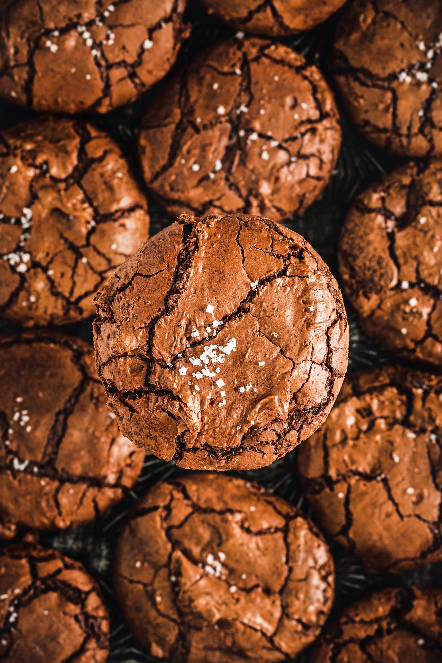 Recette des cookies brownies au chocolat
