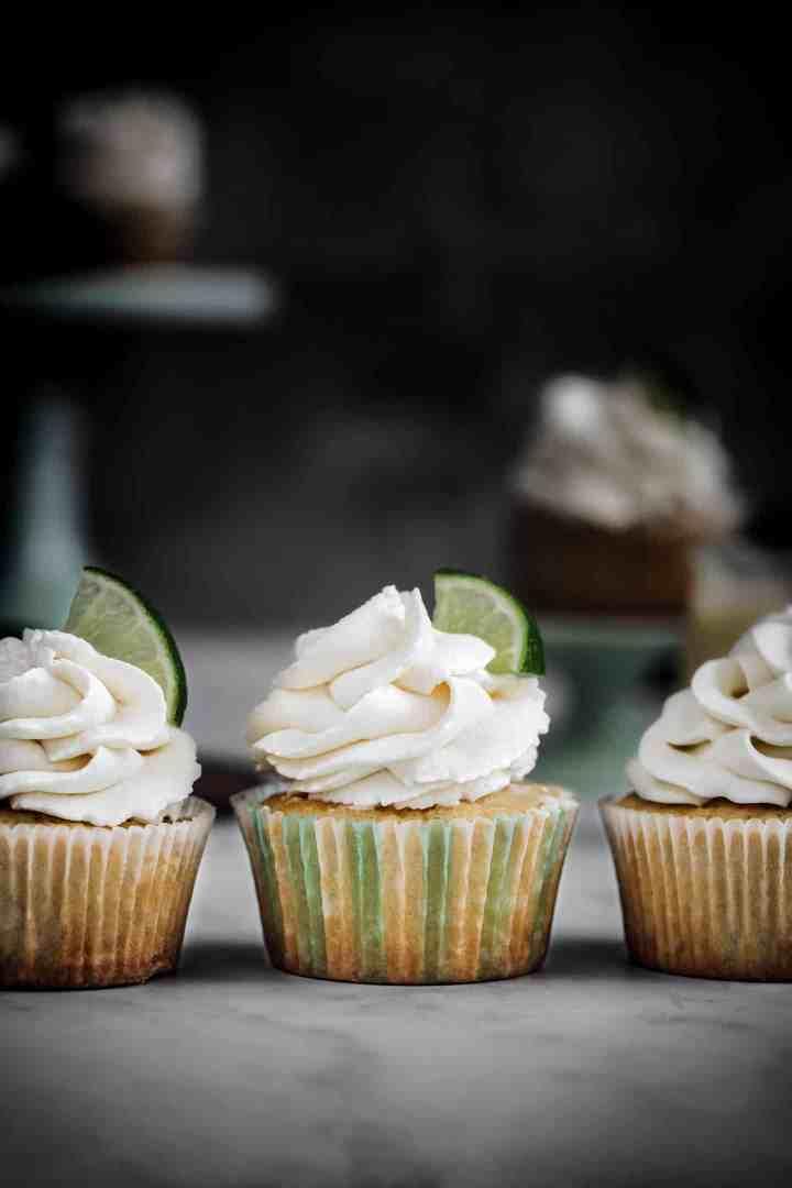 Cupcakes citron et crémeux au citron