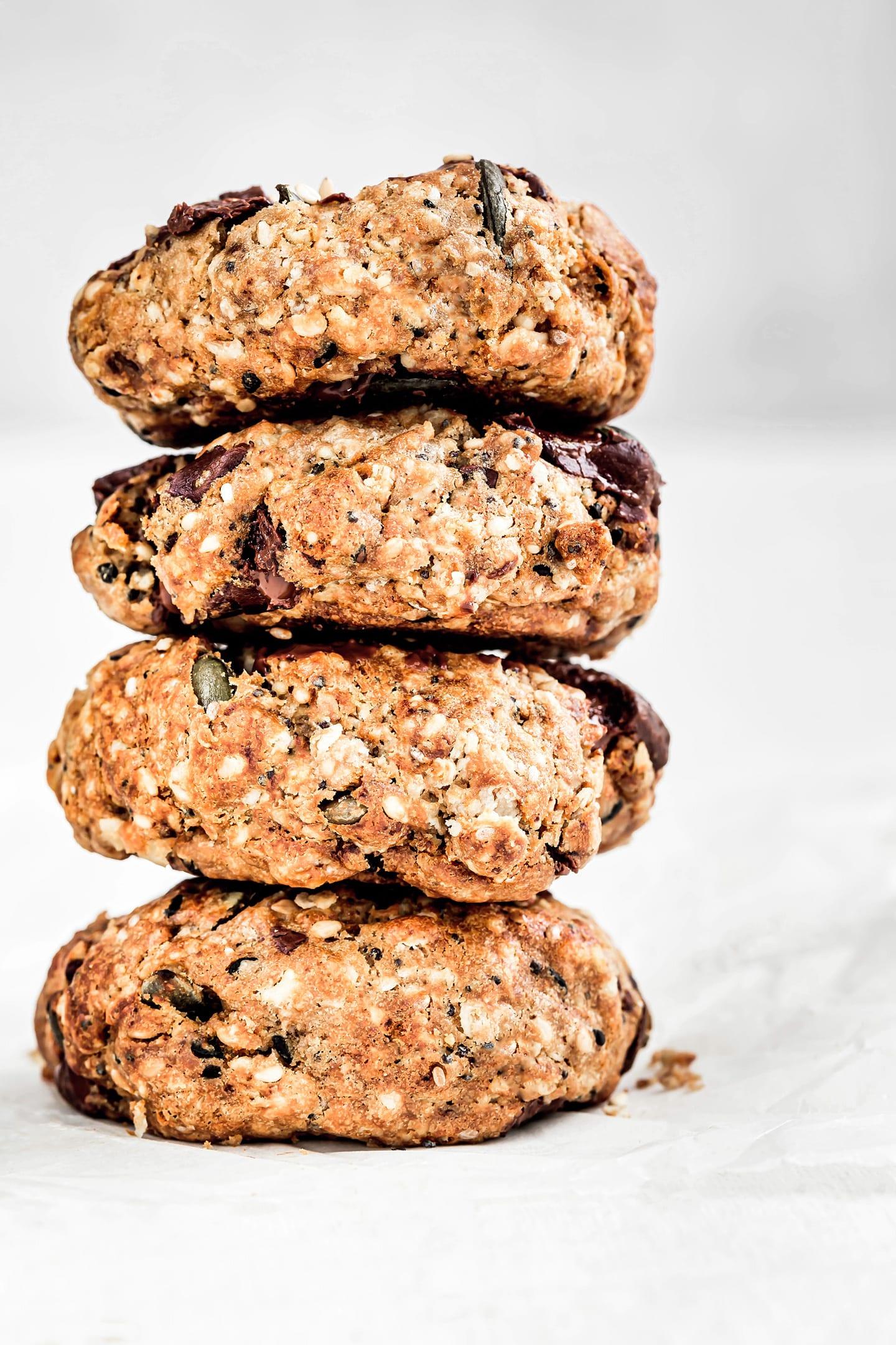 Cookies gourmands aux graines