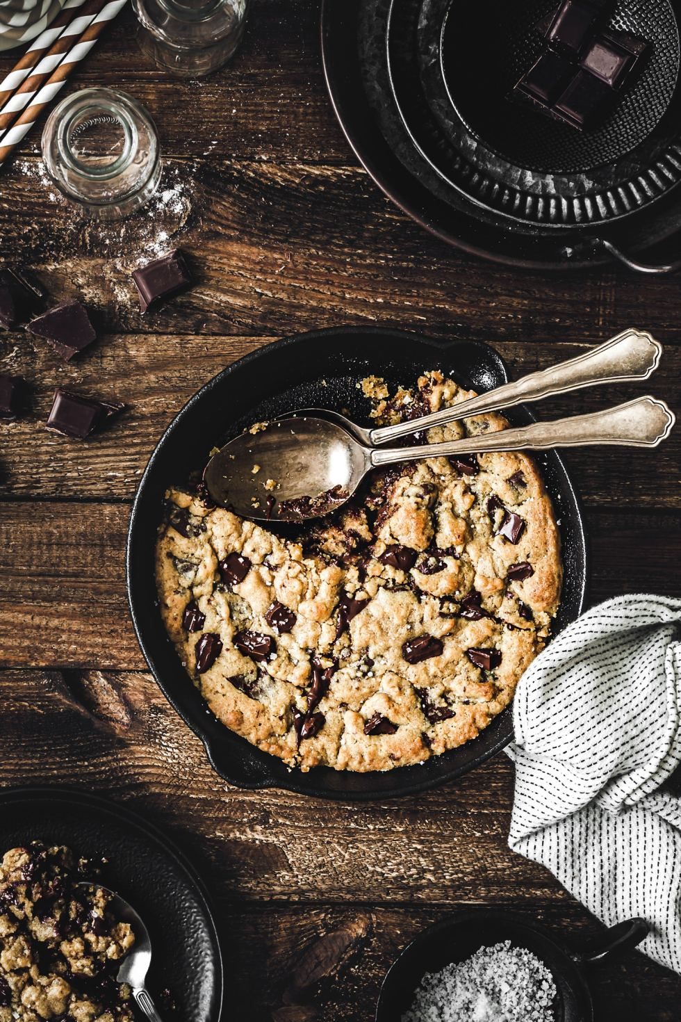 One pan cookie
