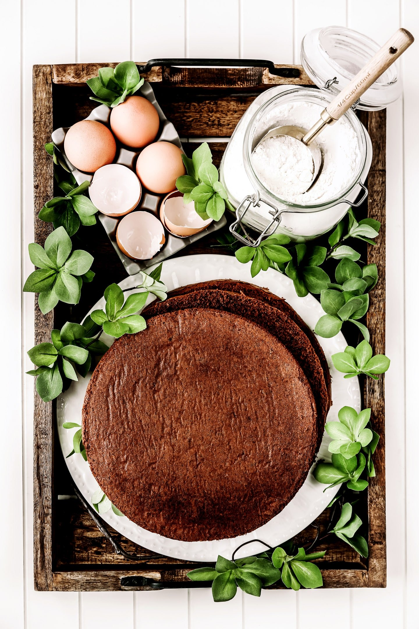 Recette genoise chocolat