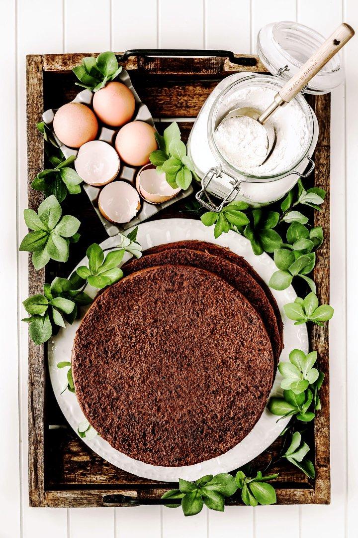 Génoise au chocolat facile