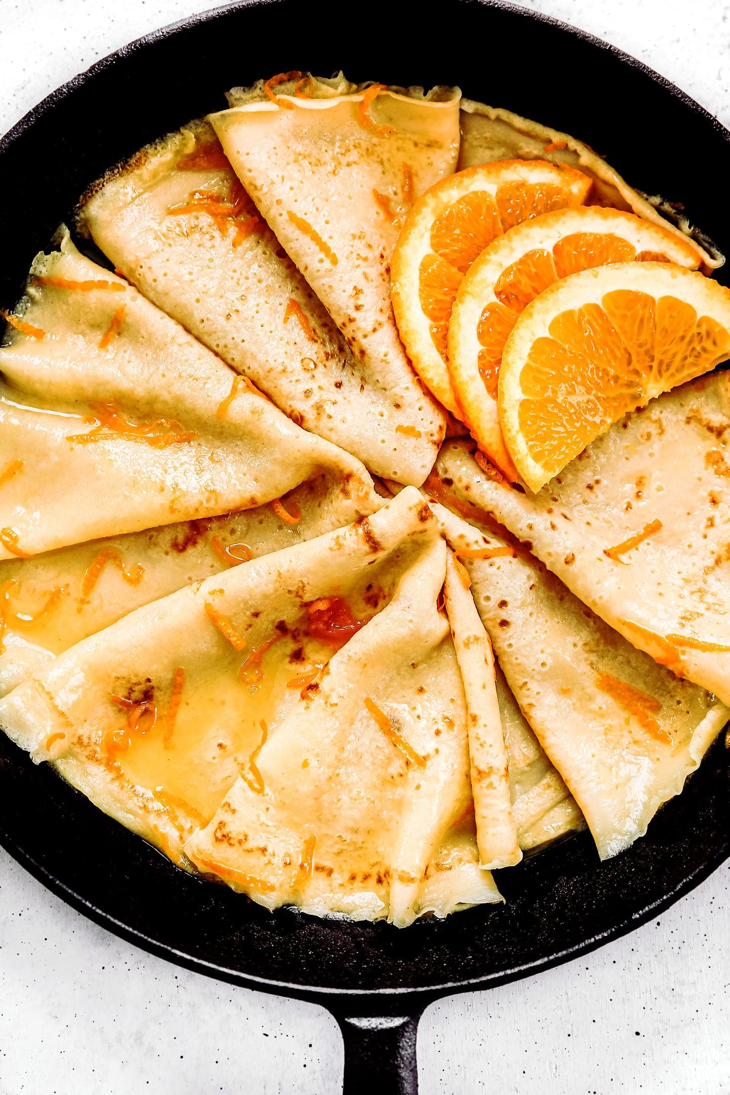orange crepes suzette recipe