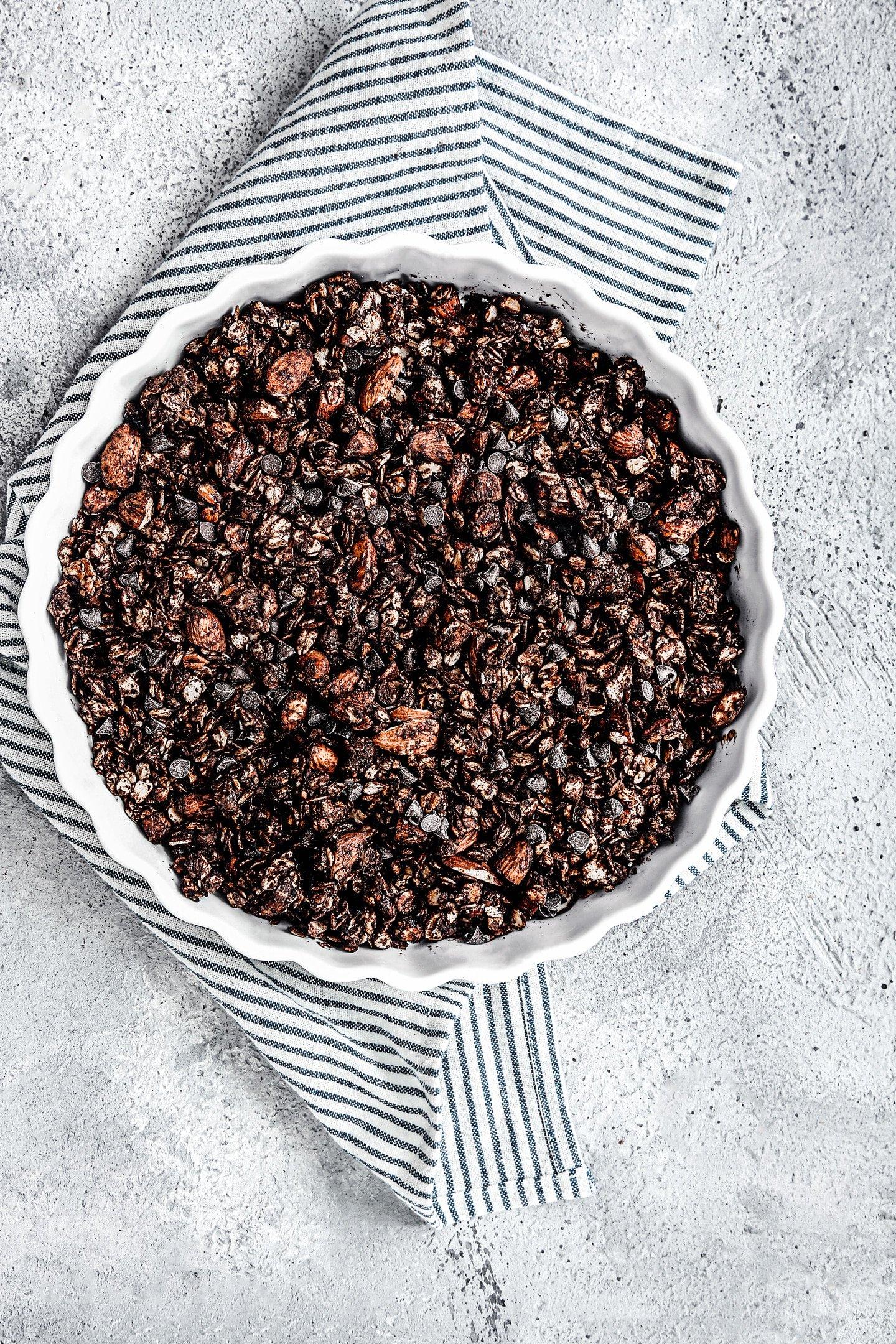 Granola maison healthy au chocolat