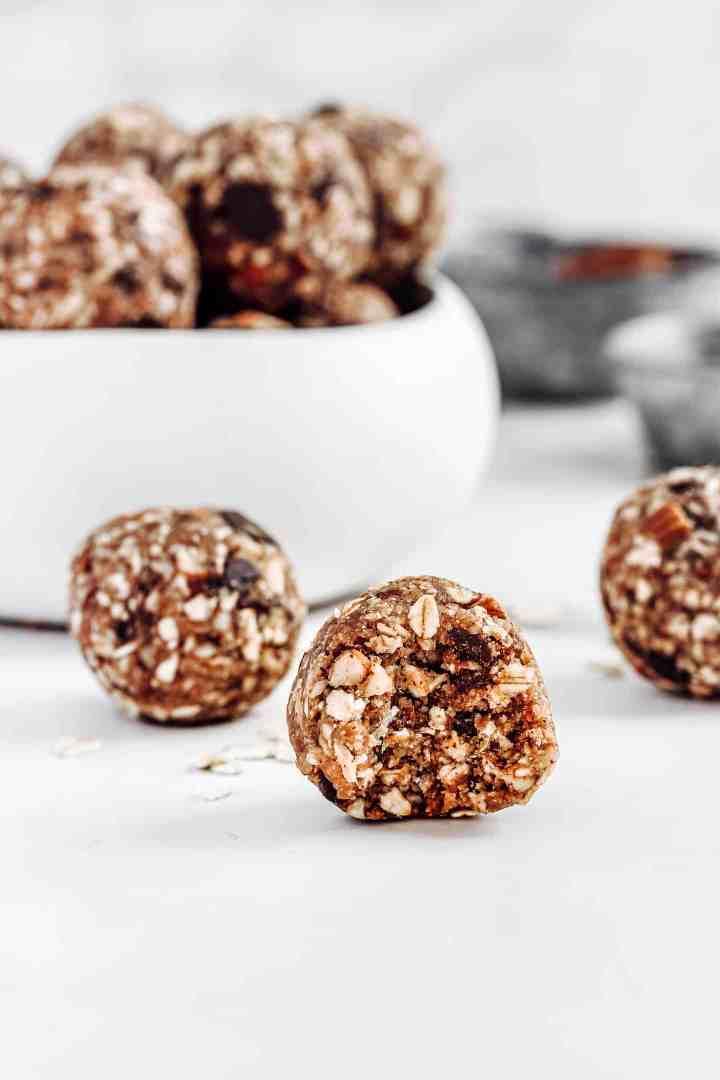 Recette facile energy balls sans cuisson