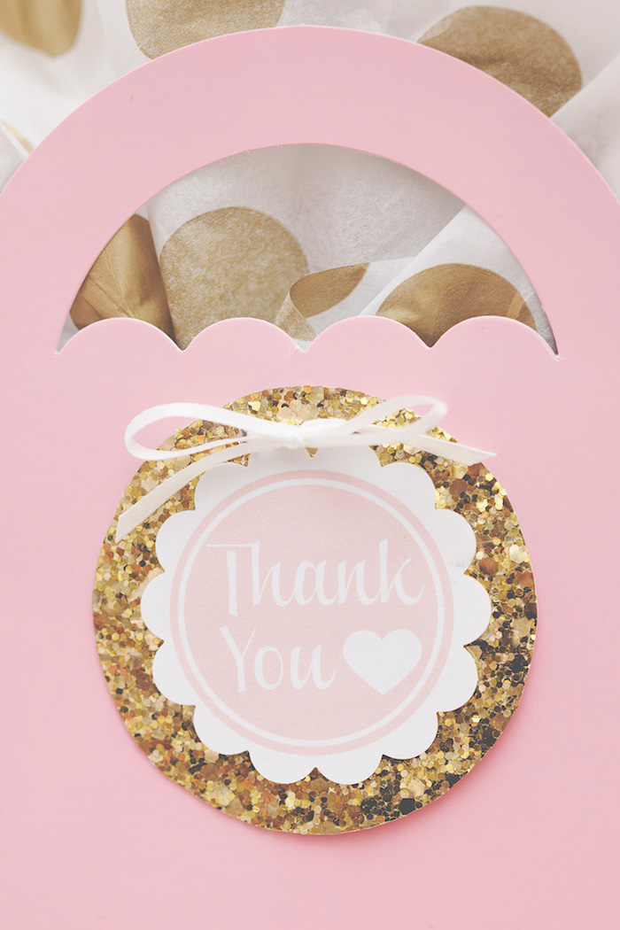 Sweetly Feature Pink  Gold Party
