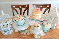 DIY Bride: Vintage Tea Party Bridal Shower