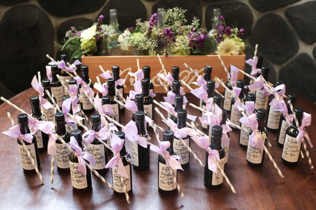 How To Make Your Own DIY Wine Bottle Bridal Shower Favors