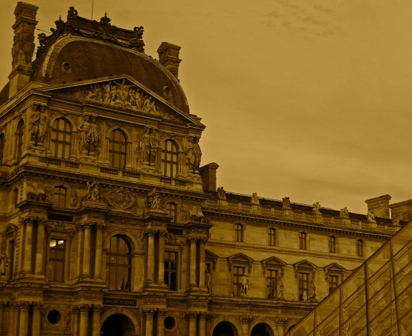 Of Louvre Sweetly Nestled