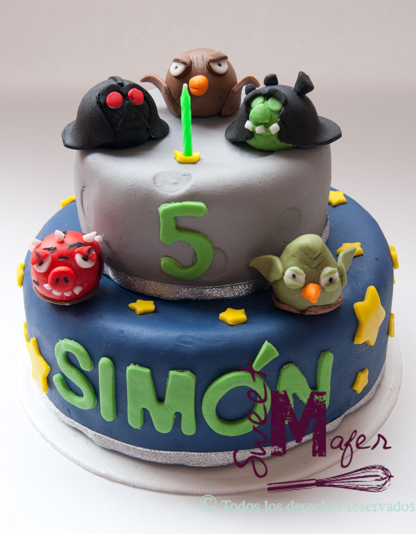 Angry Birds Star Wars Cake