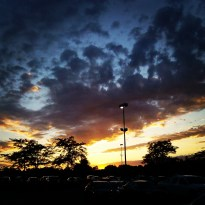 Sunset after the NYS Fair