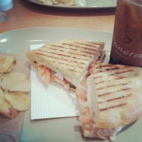 Most awesome chicken pannini ever!
