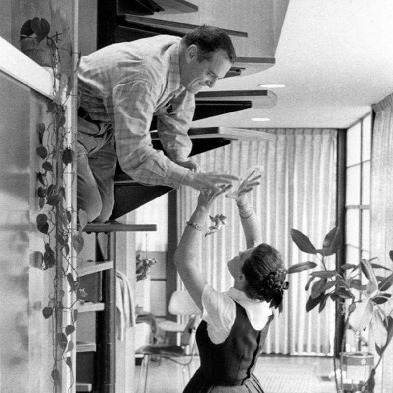 Charles Ray Eames Mcm Furniture Designer Sweet Modern Akron Oh