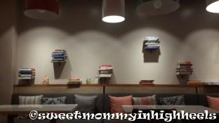 Beautiful floating shelves