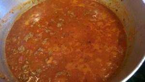 Deer Meat Sausage Pasta Sauce