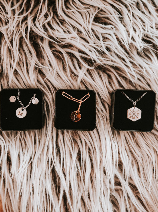 Super leuke gegrafeerde sieraden van Finaste