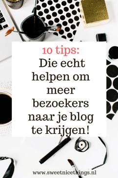 10 tips die echt helpen om meer bezoekers naar je blog te krijgen!