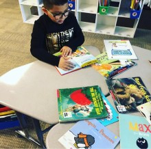 help primary students learn to love reading