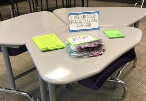meet the teacher station ideas