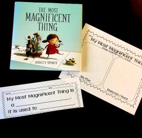 Most Magnificent Thing STEM Activity