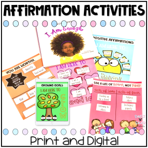 print and digital affirmation activities