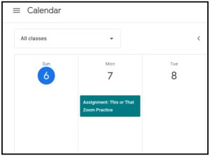 Using Google Classroom with elementary students