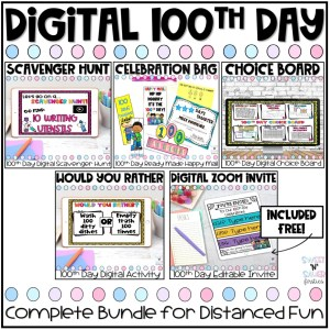 Digital 100th Day Bundle