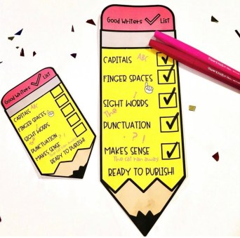 Primary Writing Checklists