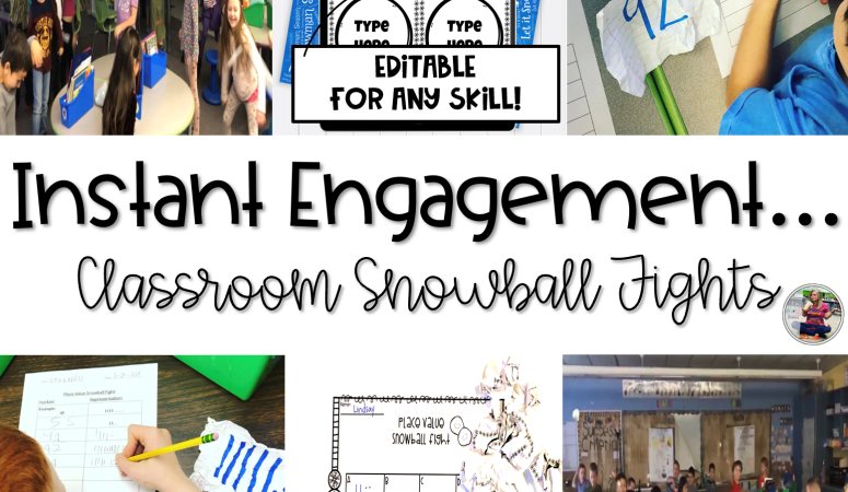 Why Use Snowball Fights in the Classroom