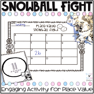 Place Value Snowball Fight