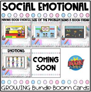 Social Emotional Boom Card Bundle