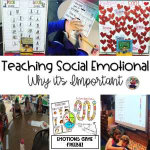 Teaching Social Emotional Learning Blog Post