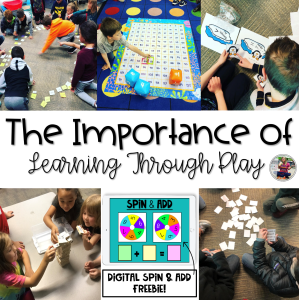 The Importance of Learning Through Play Blog Post