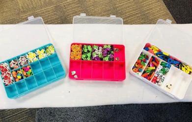 Mini eraser storage ideas