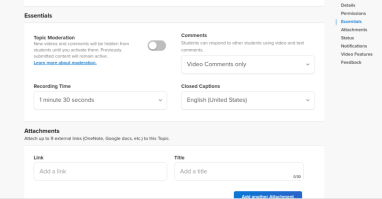 flipgrid features for teachers