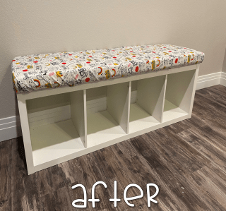 make your own storage bench seat