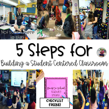 building a student centered classroom blog post
