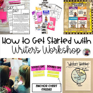 how to get started with writer's workshop blog post