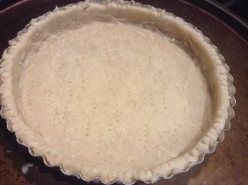 Pre-bake the crust
