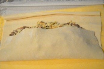 Wrap in puff pastry