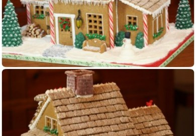 Free Gingerbread House Template
