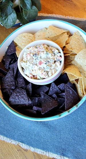 Olive Ranch Cheese Spread