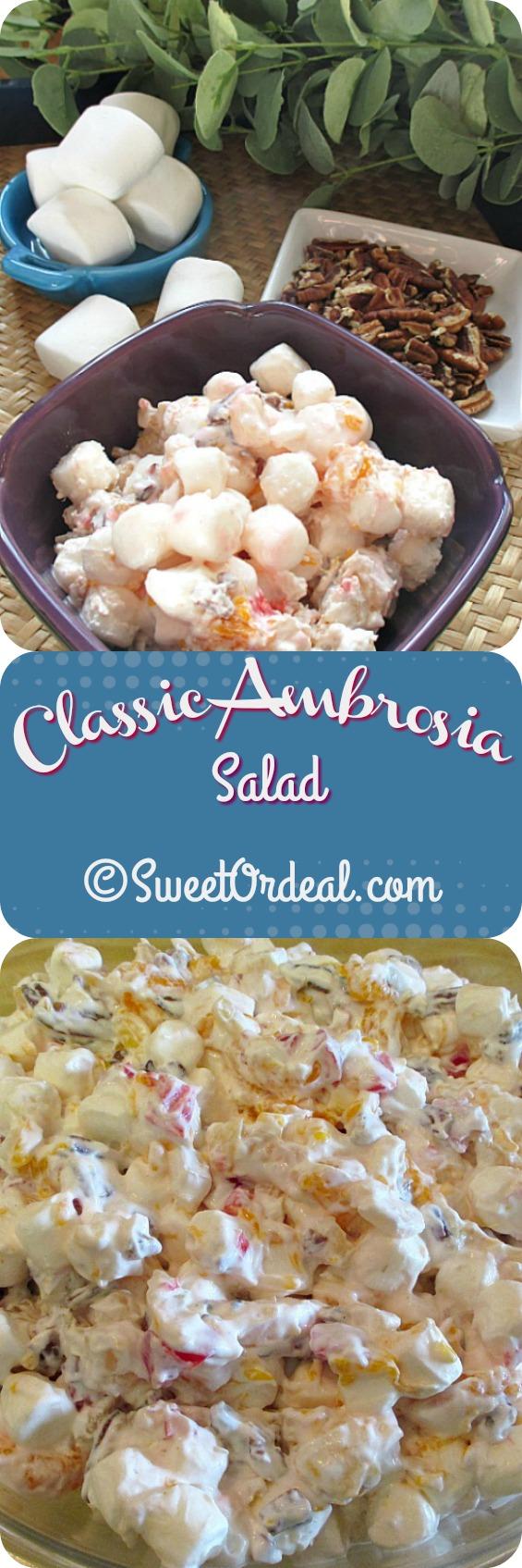 Classic Ambrosia Salad