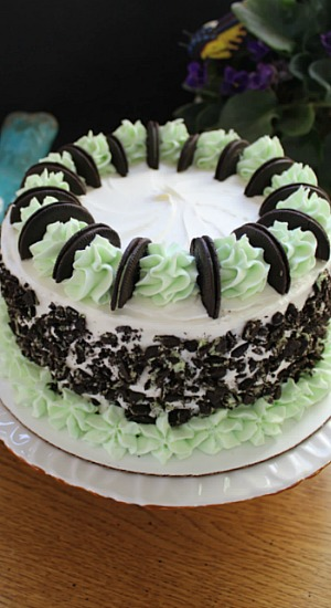 Pistachio Cookie Cake