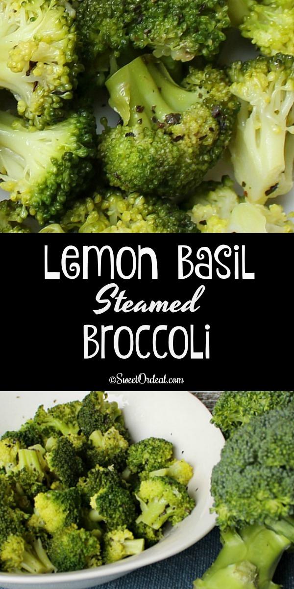 Lemon Basil Broccoli