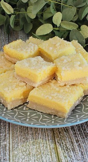 Sugar Cookie Lemonade Crumble